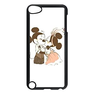 iPod Touch 5 Case Black Disney Mickey Mouse Minnie Mouse soly