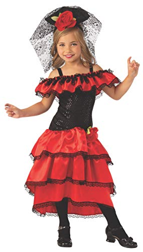Rubie's Opus Collection Child's Spanish Dancer Costume, -