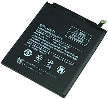 Todobarato24h BATERIA BN41 Compatible con Xiaomi REDMI Note 4 / Note 4X 4000 mAh (Ojo NO Valida Modelo BN43): Amazon.es: Electrónica