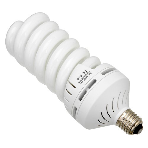 fotodiox 70w daylight compact fluorescent light bulb cfl. Black Bedroom Furniture Sets. Home Design Ideas
