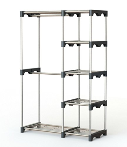 Clothes Hanging Rack Portable Clothes Rack Free Standing ...