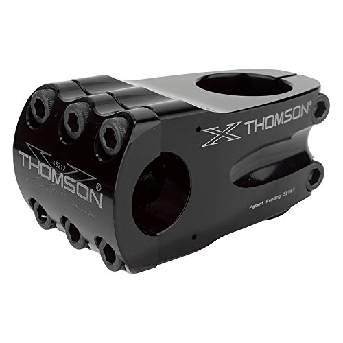 Thomson Elite BMX 22.2 Bicycle Stem (1-1/8 x 0-Degree x 50 x 22.2 BMXmm, Black) by Thomson