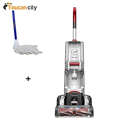 Toucan City String Mop and Hoover Professional Series SmartWash Advanced Pet Automatic Upright Carpet Cleaner FH52002