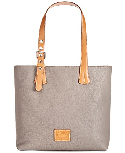 Dooney & Bourke Emily Large Leather Tote (Elephant)