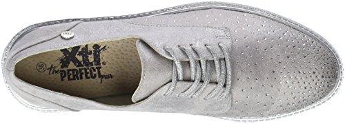 para XTI de Hielo Oxford Blanco Mujer 47800 Cordones Zapatos XfqrA7f