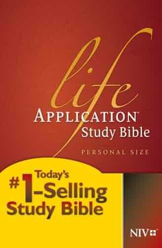 Life Application Study Bible NIV, Personal Size