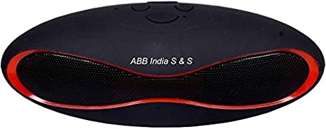 ABB LM BT11FM Portable Bluetooth Mobile/Tablet Speaker  Black  MP3 Player Mobile Speakers