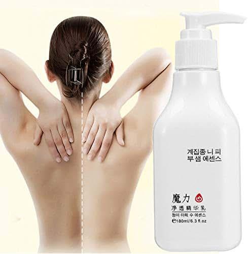 Whitening Bleaching Body Cream Skin body lotion Moisturizing Deep Pearl Whitening Lasting Whole Body Moisturize Dark Skin 180ml by Superjune