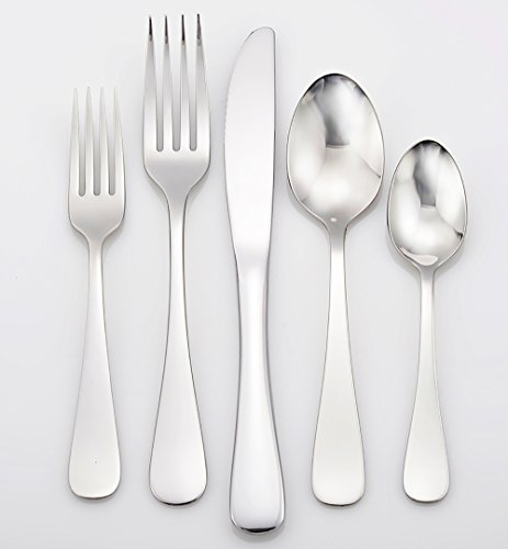 Liberty Tabletop Annapolis 20 Piece Flatware Set service for 4 stainless steel 18/10 Made in USA by Liberty Tabletop (Image #2)