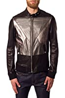 Men's Diesel Black Gold Litriang Leather Jacket