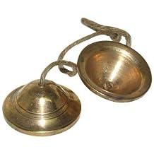 Brass Cymbals. Thai Musical Instruments.