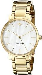 kate spade New York Women's 1YRU0002 Gramercy Gold-Tone Stanless Steel Watch
