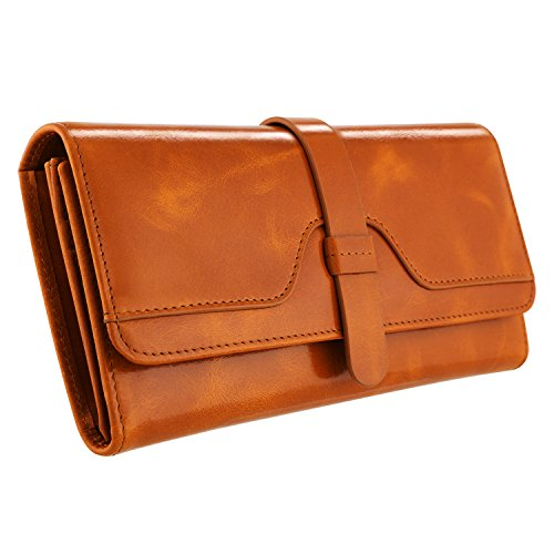 Genuine Leather Tri Fold - 6