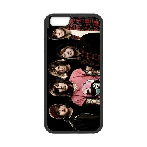 Fayruz- Personalized Protective Hard Textured Rubber Coated Cell Phone Case Cover Compatible with iPhone 6 & iPhone 6S - Bring Me The Horizon F-i5G651