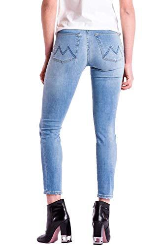 Azul Meltin' Pot Blue Mujer Para Bs18 denim Skinny Vaqueros Mareg ZfZTaP