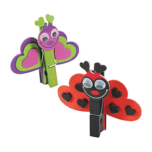 Love Bug Clothespin Craft Kit