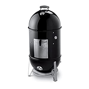 15. Weber 721001 Smokey Mountain Cooker 18-Inch Charcoal Smoker