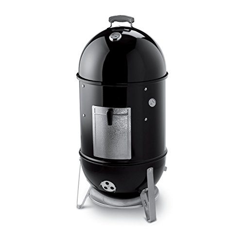 Weber 721001 Smokey Mountain Cooker 18-Inch Charcoal Smoker, Black by Weber