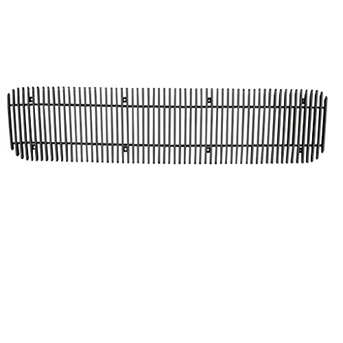 EAG Vertical 1PC 4mm Overlay Billet Grille for 98-04 GMC Sonoma / 98-01 GMC Jimmy