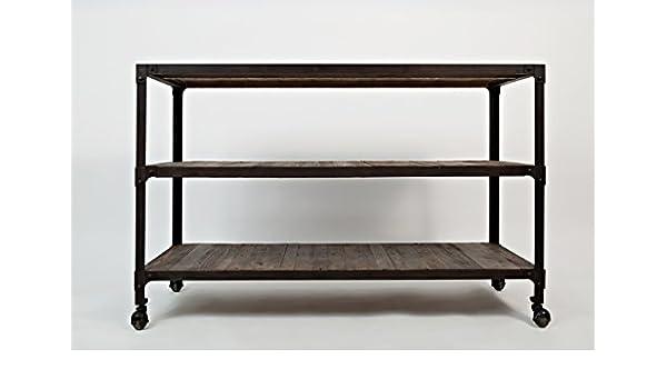 Jofran: 1540-4, Franklin Forge, Sofá/Mesa Media, 127 cm de ...