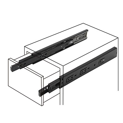 Probrico 10 Pair of 12 Inch Hardware Ball Bearing Side Mount Drawer Slides, Full Extension, Available in 12'',14'',16'',18'',20'',22'', 24'' Lengths by Probrico (Image #5)