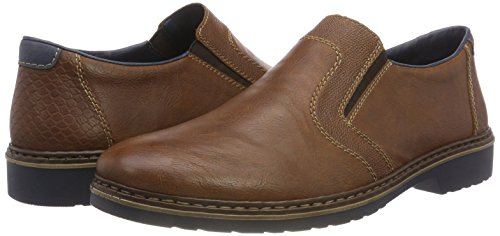 royal Mocassins marron Rieker 16578 25 Homme Marron 51vgnqX