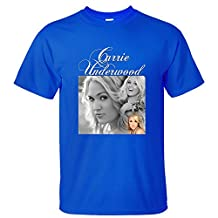 XTOTO Men's Fashion Carrie Underwood Cool T-shirts