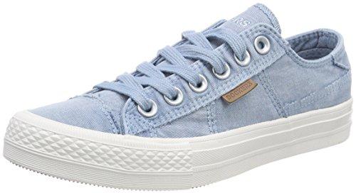 Dockers by Gerli Women's 40th201-790620 Low-Top Sneakers, Blue (Baby Blau 620), 7.5 UK