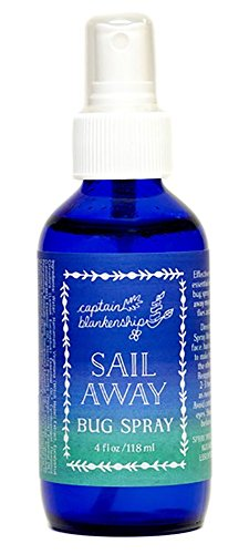 Captain Blankenship - Organic Sail Away Bug Spray