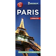 Michelin Paris City Map - Laminated