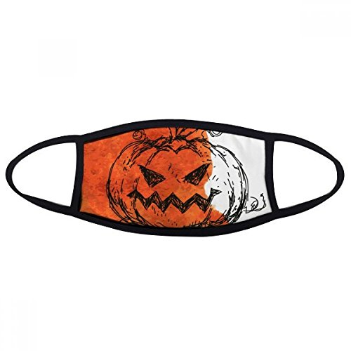 DIYthinker Hand Painted Pumpkin of Halloween Face Anti-dust Mask Anti Cold Maske Gift]()