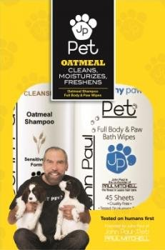 Piece Oatmeal Shampoo Wipe Duo Pack ()