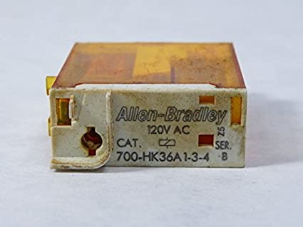 Allen dley 700-HK36A1-3-4 Relay 10amp 120VAC 5-Pin ... on