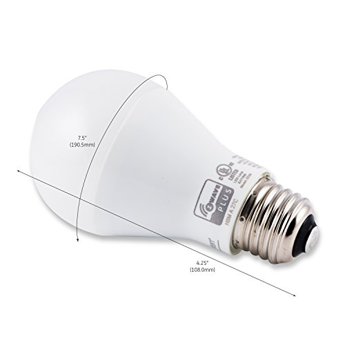 Enbrighten Z-Wave Plus Wireless Smart LED Light Bulb, Dimmable, 60-Watt Equivalent, 2700K Soft White, E26 Base, A19 Style Bulb, 750 Lumens, Hub Required, 35931, Works with Alexa by Enbrighten (Image #5)