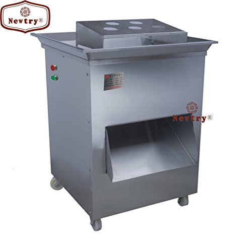 Newtry QD 1500KG/H Vertical type meat cutting machine shredded cutter meat cutter slicer meat processing machine 380V