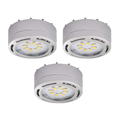 120 Volt Dimmable Led Puck Lights in US - 2
