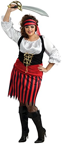 Pirate Family Costumes (Women's womens Pirate Girl Costume,Multi,Standard)