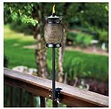 (2) ea Lamplight Farms / Tiki 1112155 4-In-1 Multi Use Citronella Patio Torches