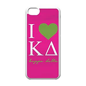I Love Kappa Delta iPhone 5c Cell Phone Case White DIY TOY xxy002_916138
