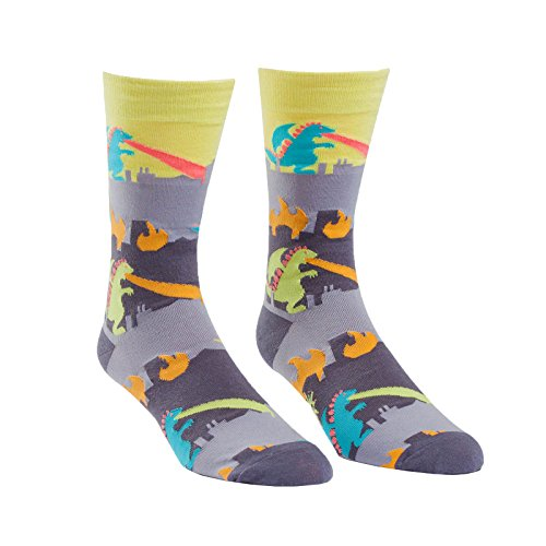 Sock It to Me, Rampage, Men's Crew Socks, Novelty, Monster Socks