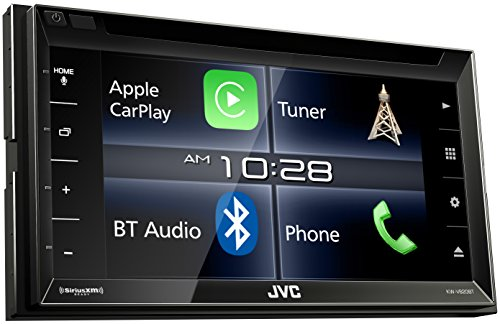 JVC KW-V820BT 6.8-Inch CarPlay Receiver Double DIN BT In-Dash Stereo with XM, iDataLink Maestro, Dual Zone