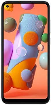 Samsung Galaxy A11 32GB (6.4 inch) Display Triple Camera A115U Black Unlocked Smartphone (Renewed)