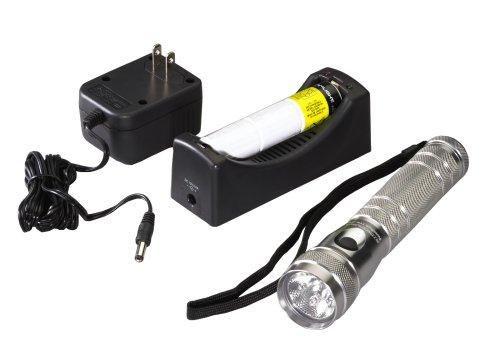 Streamlight 51017 Twin-Task Titanium LED and Xenon Rechargeable Flashlight, (Twin Task Rechargeable Flashlight)