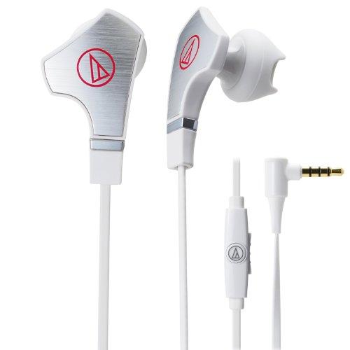 2TW8820 - Audio-Technica ATH-CHX7iS SonicFuel Hybrid Earbud Headphones for Smartphones