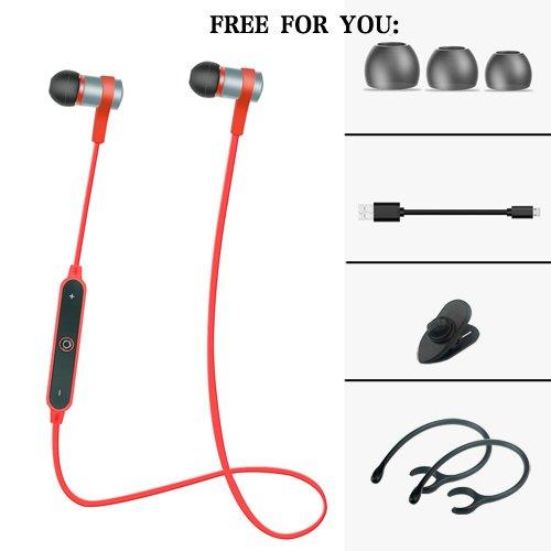 [Red]2017 New Daono S6-1 Wireless Headphones Bluetooth Earphone Fone de ouvido