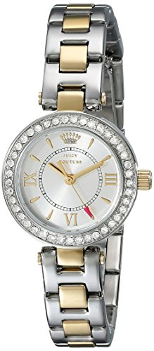(Juicy Couture Women's 1901229 Luxe Couture Two-Tone Watch)