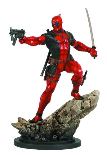 Bowen Designs Deadpool Action Version Painted Statue