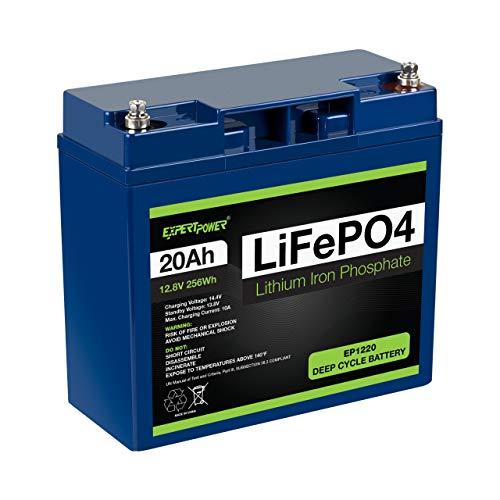 Expertpower 12V 20Ah Lithium