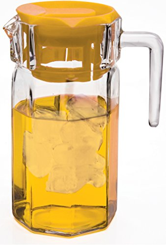 Circleware Beverage Pitcher Yellow Plastic product image