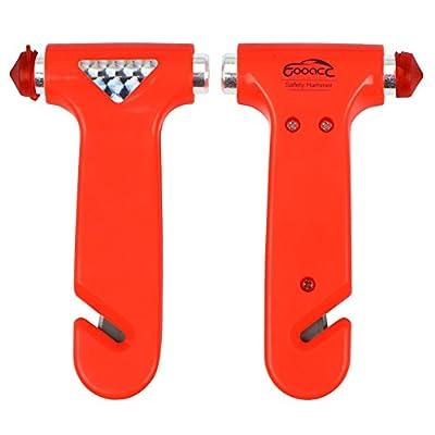 GOOACC Seatbelt Cutter Window Breaker Emergency Escape Tool